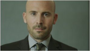 Alex Humes as Paul Kerr in the feature film MILE END written and directed by Graham Higgins